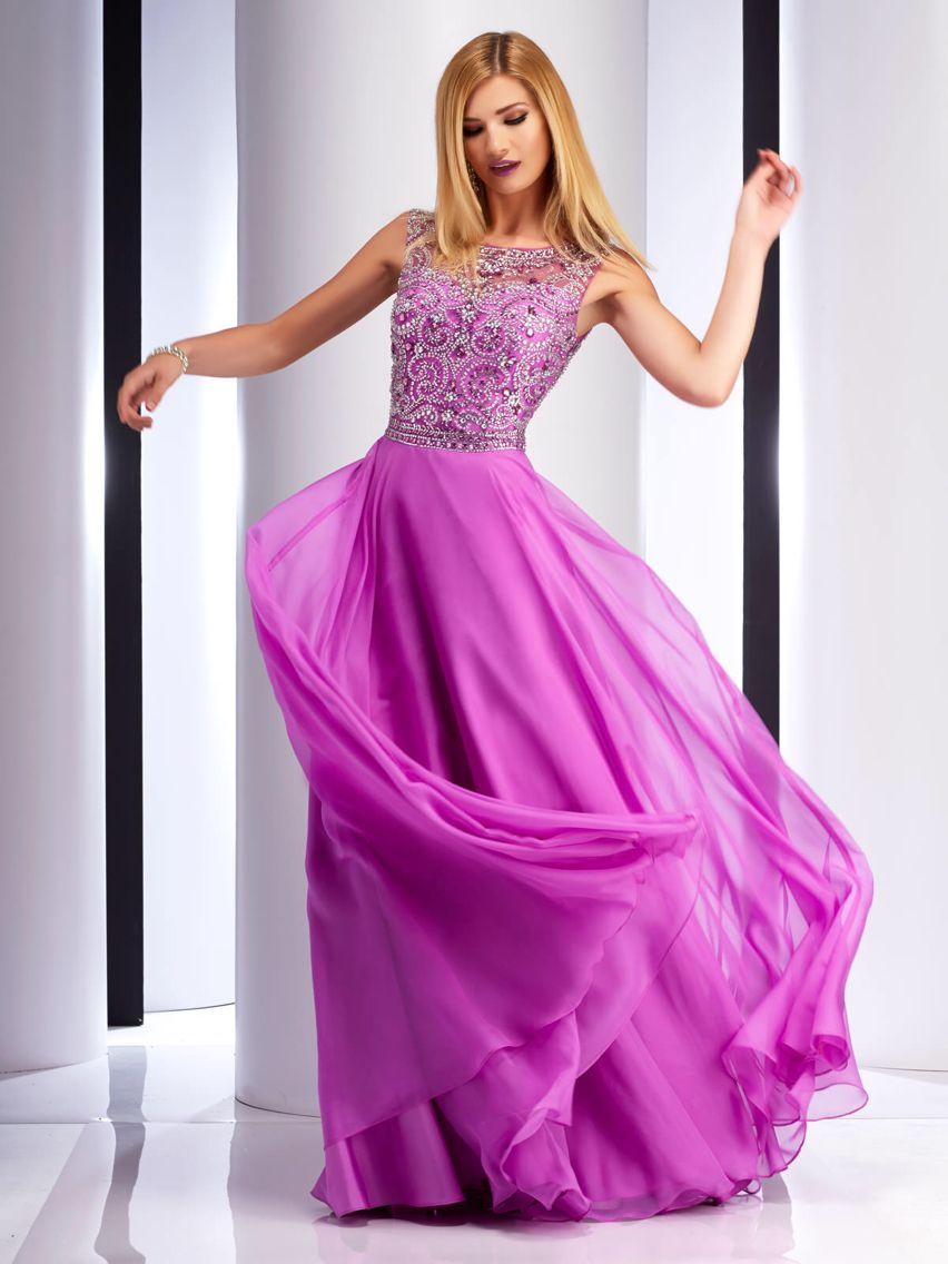 Magenta prom dress | creaciónes Lety | Pinterest