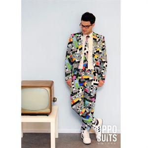 Pauseskærm Jakkesæt. Jakkesæt med buks, jakke og slips. Sjovt Jakkesæt i god kvalitet. #mode #blazer #stil #herremode
