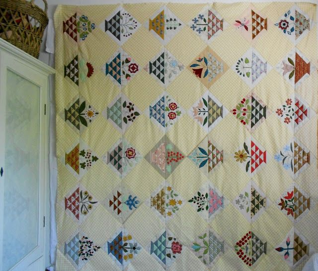 Sweet William quilt from Supergoof Quilts blog - so tempted by this one!!!!