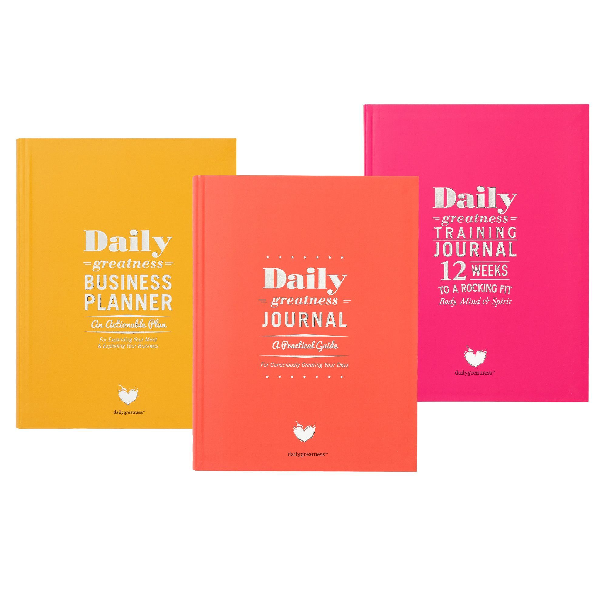 Dailygreatness Journal Box Set Business daily planner
