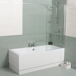 Small Corner Bath With Shower Screen