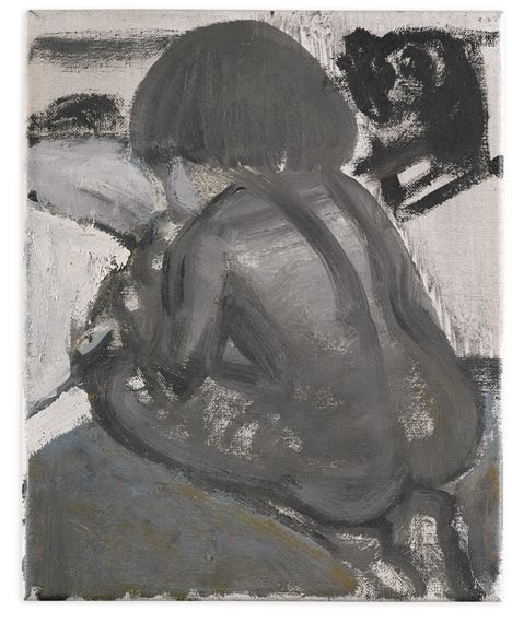 Marlene Dumas, AT THE BEDSIDE OF THE MOTHER