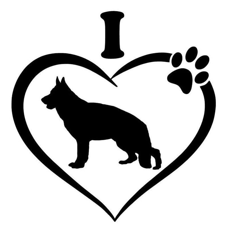 ♥♥ DECAL sticker furniture door Wall Tattoo Car DOG NAME PAW BONE 8 ♥♥