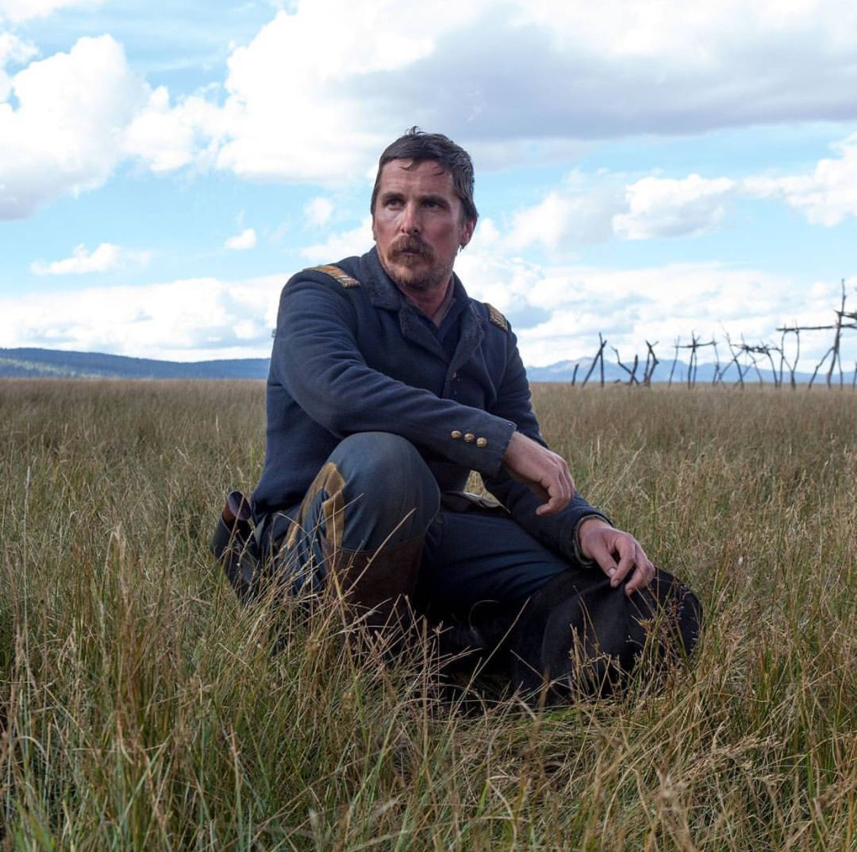 "Christian Bale in ""Hostiles movie 2017"""