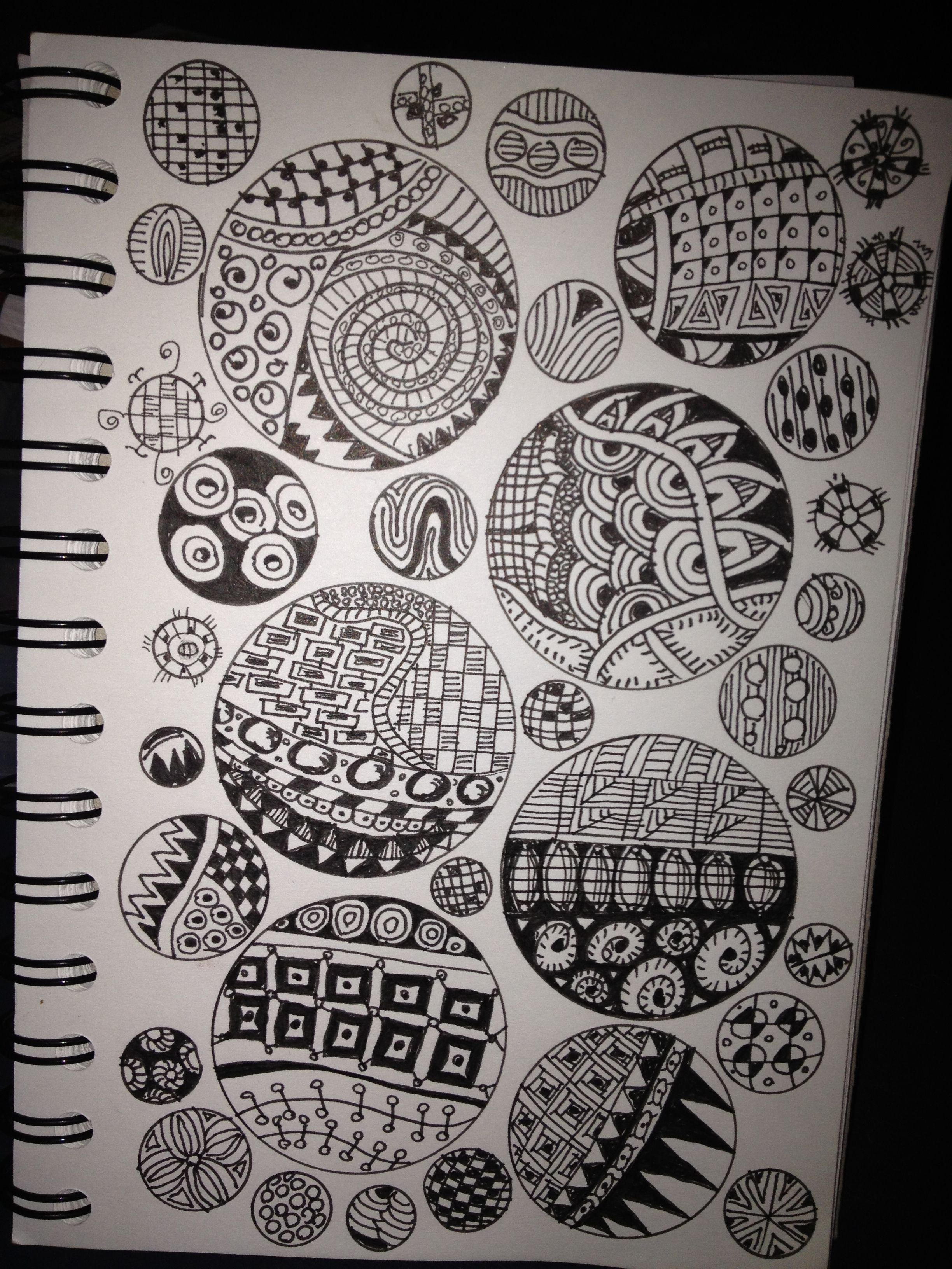 My Zentangle Notebook