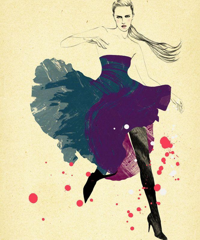 Brilliant Fashion Illustrations – Sandra Suy