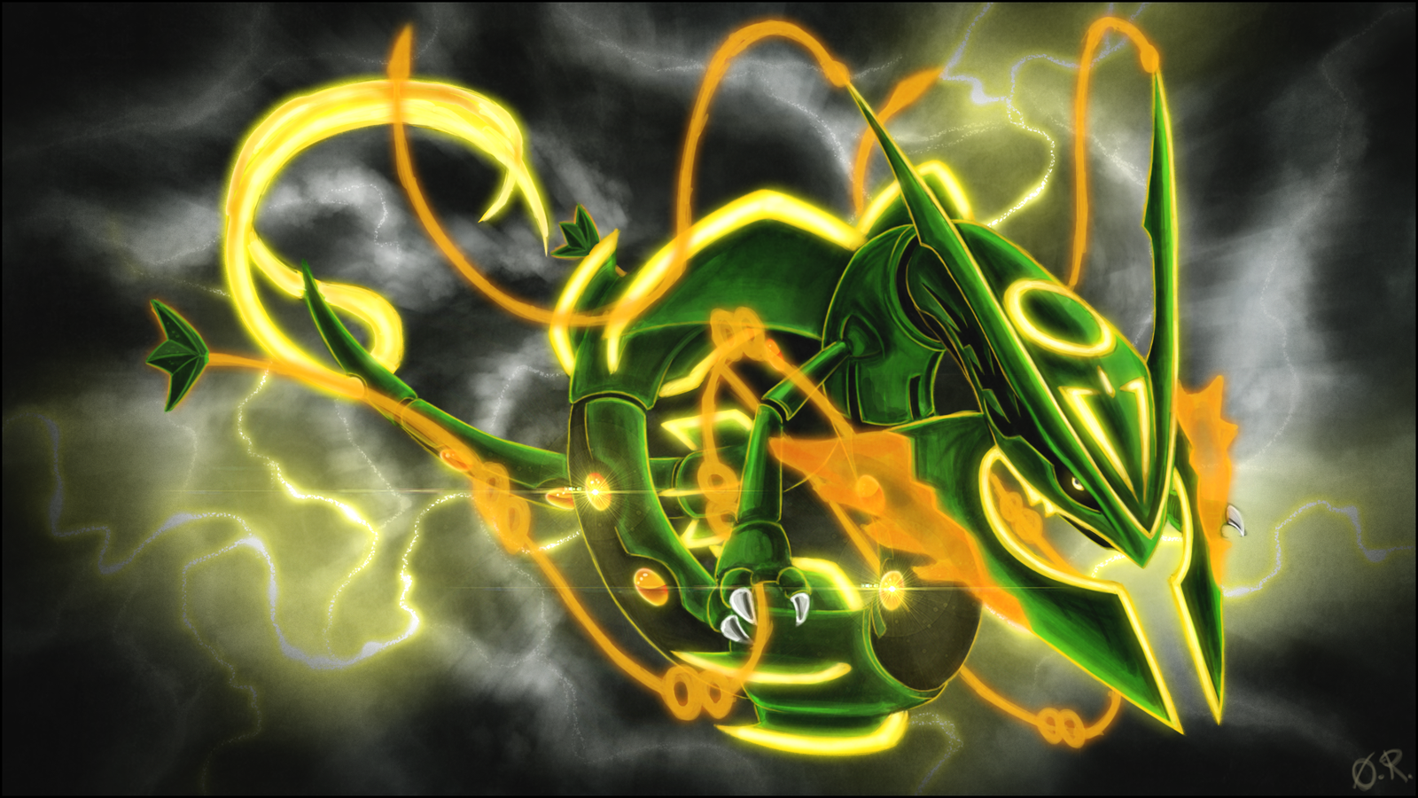 Delta Stream By Theomegaridley On Deviantart Pokemon Rayquaza Rayquaza Wallpaper Mega Rayquaza