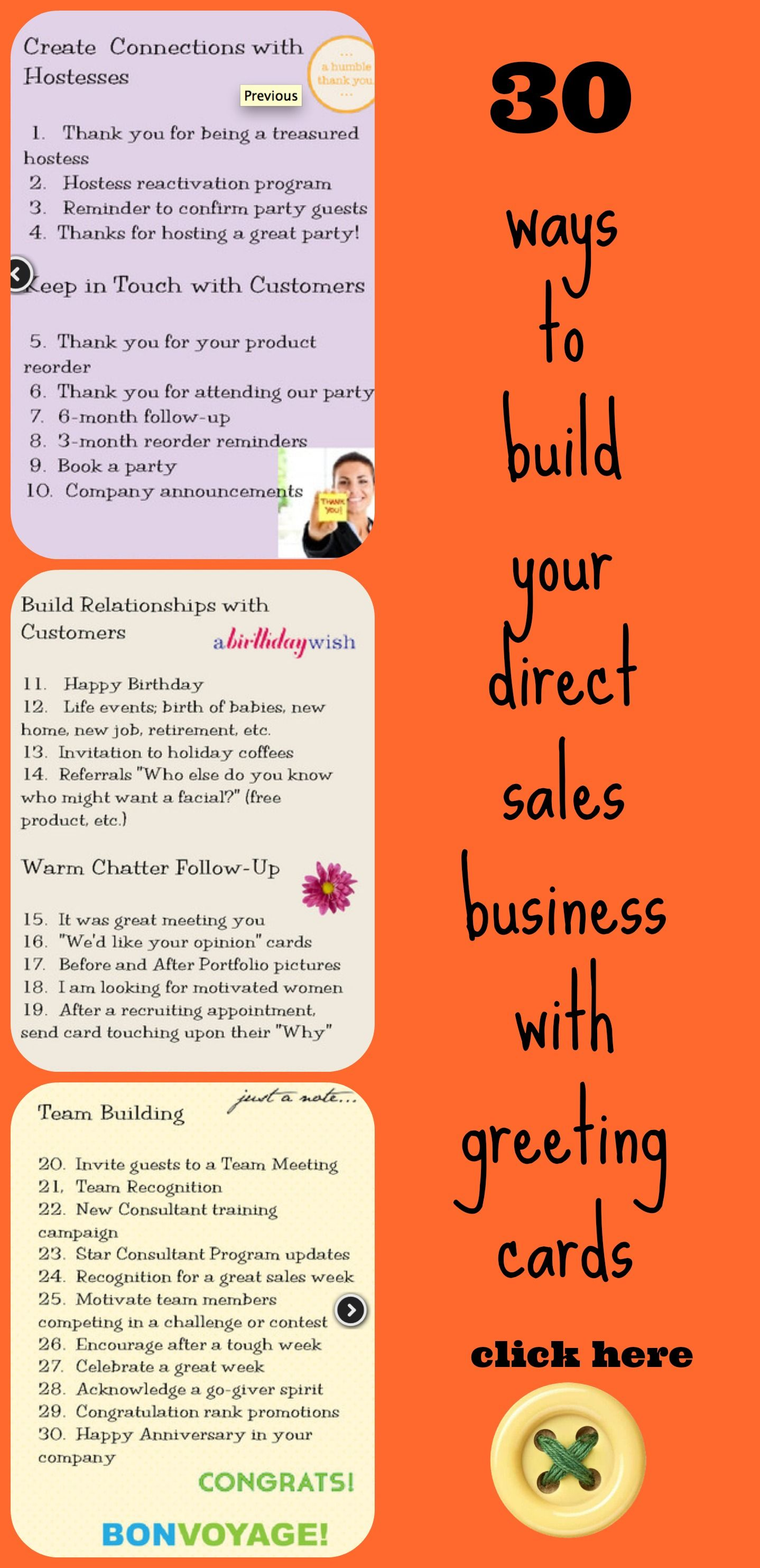 Great ways to use greeting cards to build your direct sales or mlm great ways to use greeting cards to build your direct sales or mlm company http colourmoves Gallery
