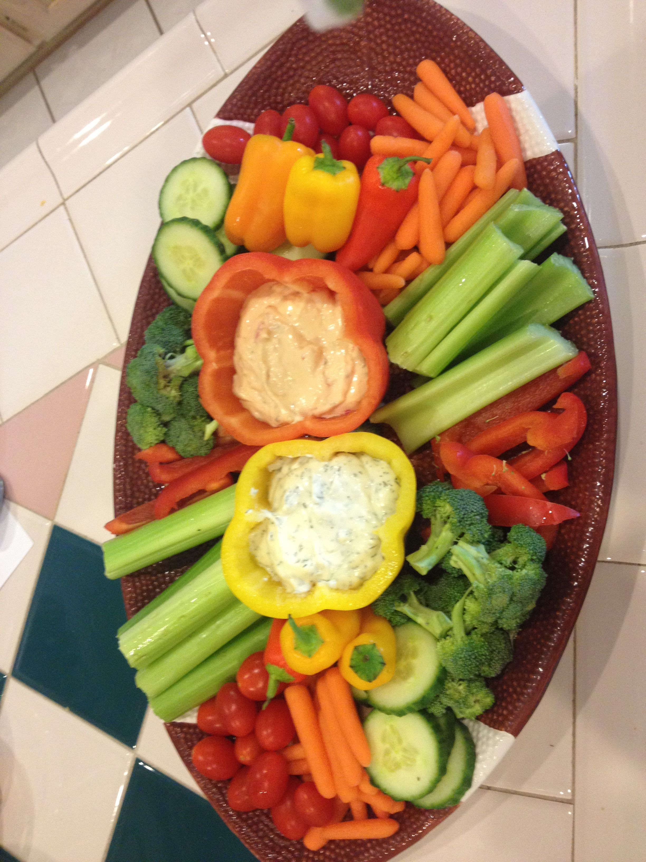 Veggie Tray, Superbowl Party