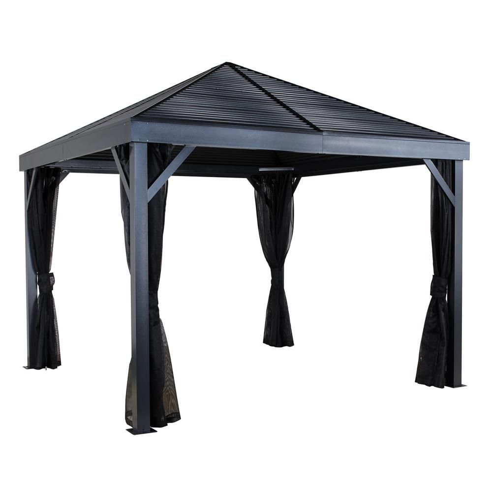 Wilson Fisher Domed Top Grill Gazebo At Big Lots Grill