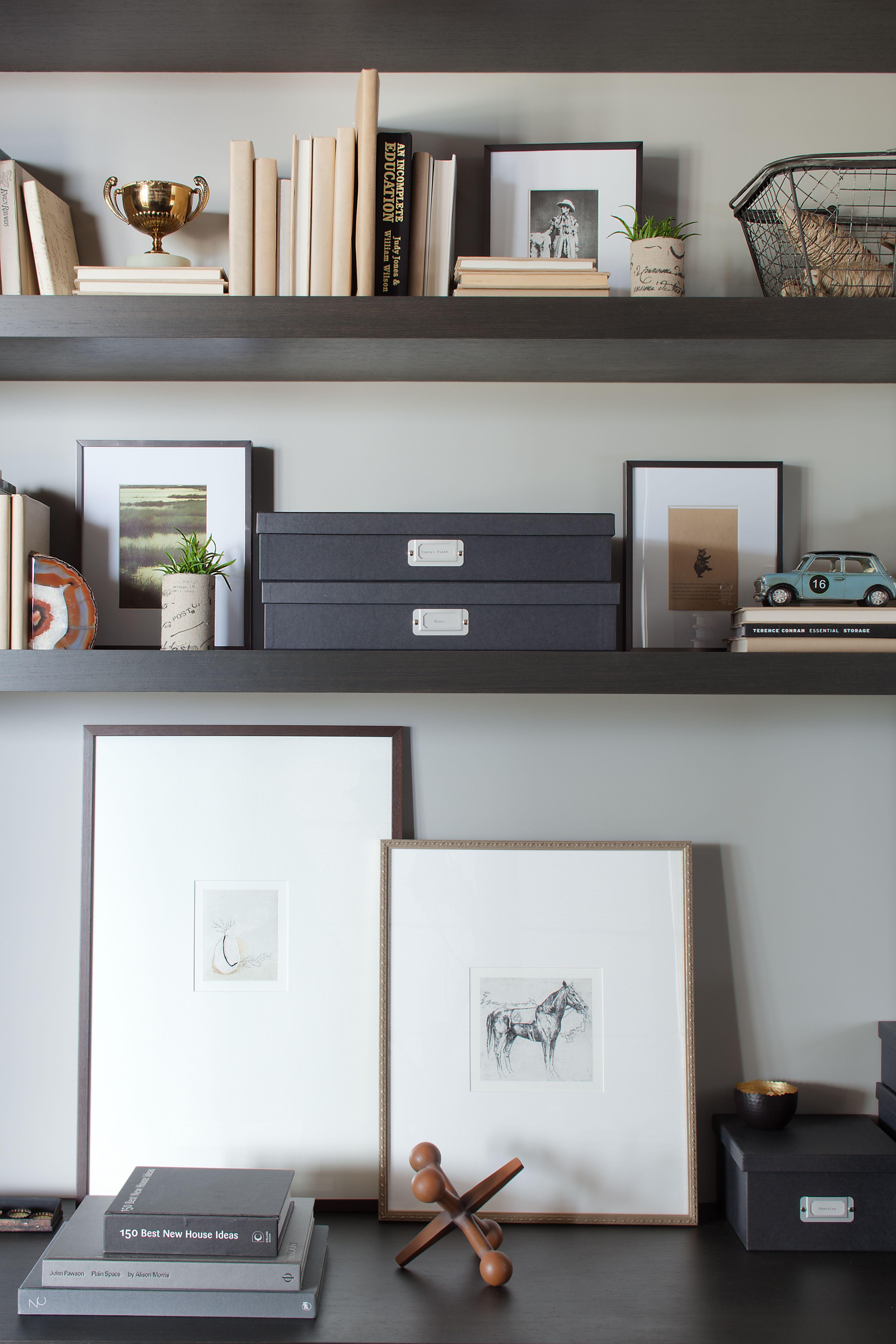 office art wall shelf office pinterest