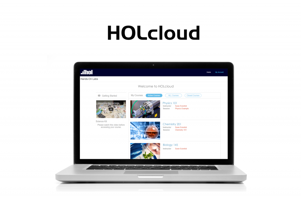 HOLcloud Online science, Science curriculum, Science