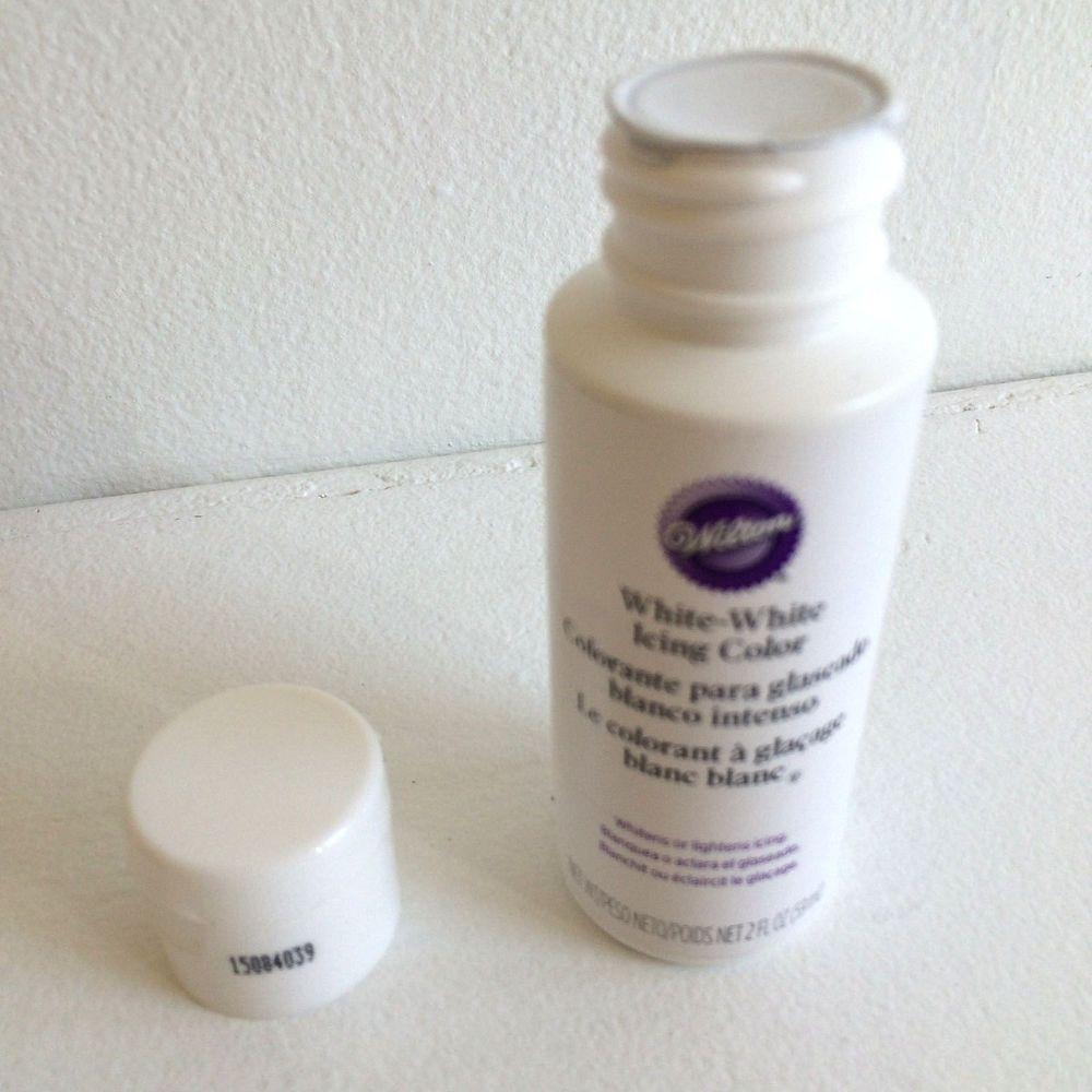 Wilton 603-1236 Liquid Food Color, 2oz. White | Crafty