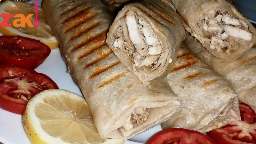 طريقة عمل الشاورما السوري مع الثومية رووعة زاكي Syrian Food Food Recipes