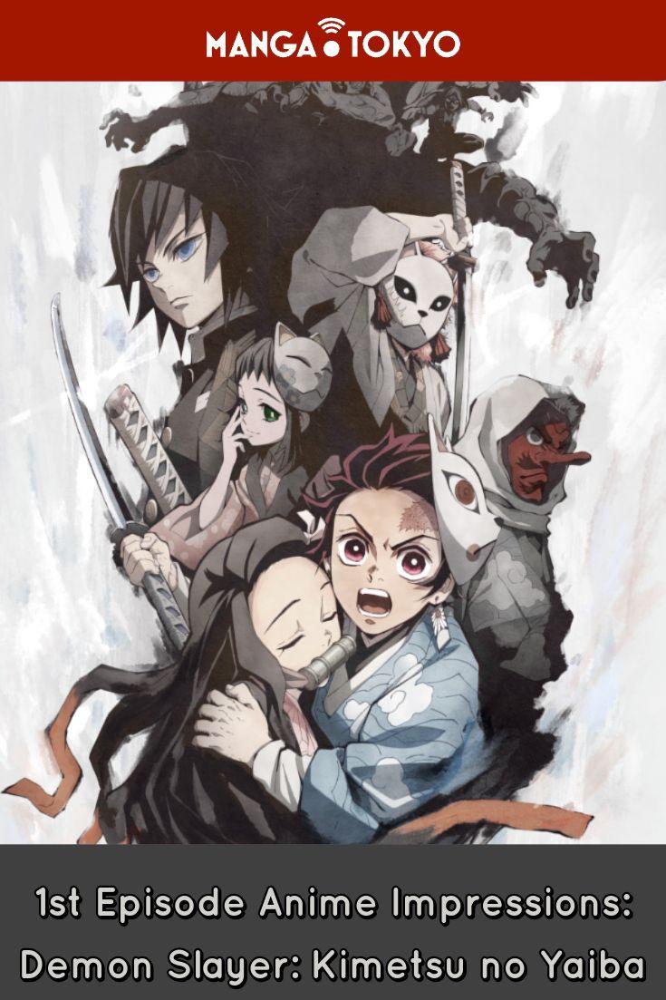 1st Episode Anime Impressions Demon Slayer Kimetsu no