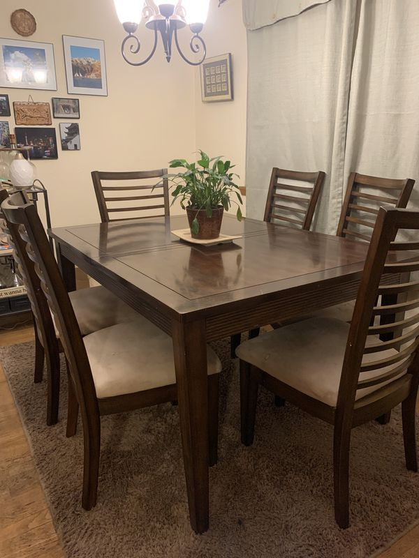 Wood Dining Room Table 6 Chairs For Sale In Tacoma Wa In 2020