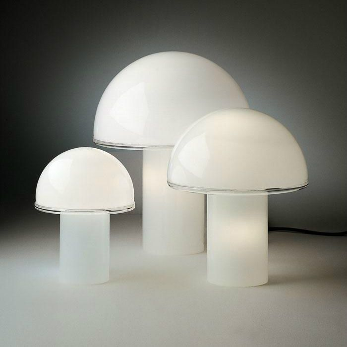 Awesome Lampe poser Verre Blanc Hcm ONFALE