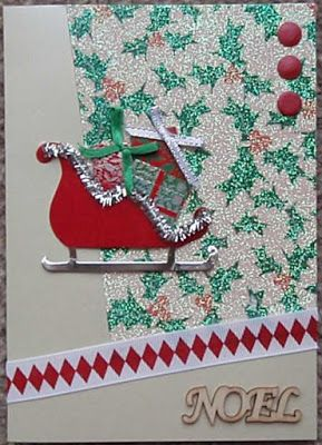 Jack In The Box: Sleigh card