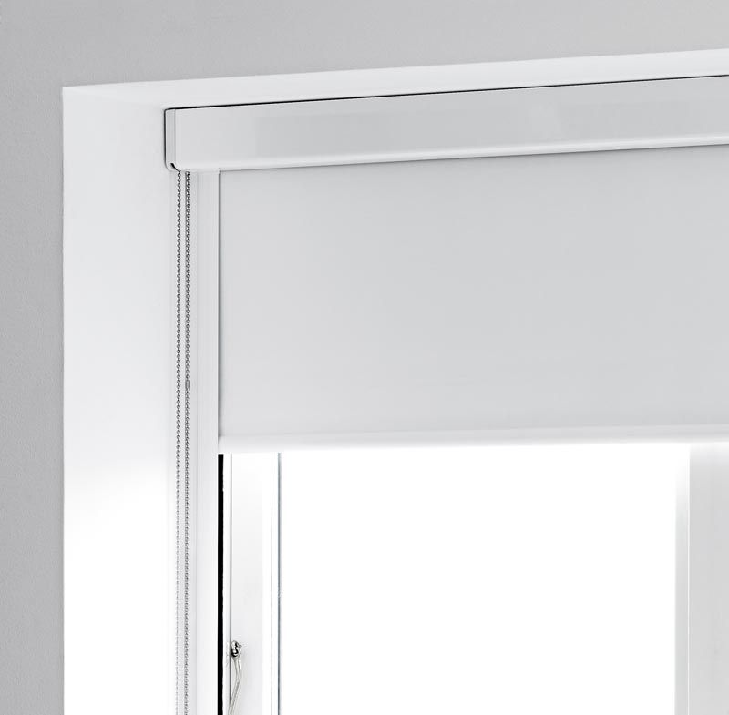 Roller Blind In Headbox With Side Channels Google Search