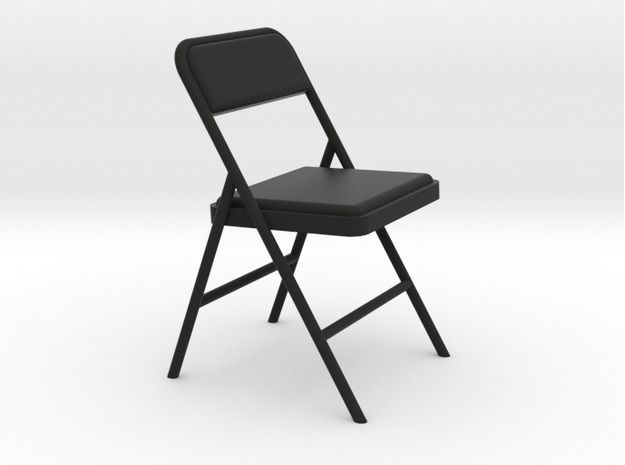 Miniature 1 24 Scale Folding Chair 1 By Tisch On Folding Chair Miniatures Chair