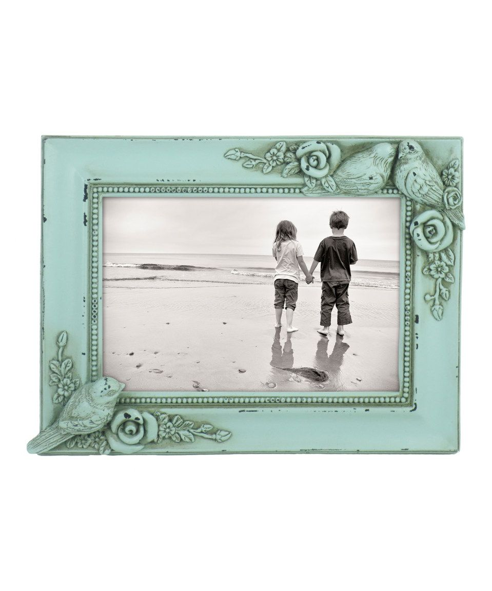 Another great find on #zulily! Green Resting Birds Frame by Azzure ...