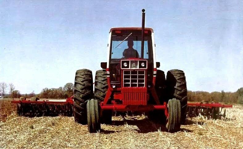 International Harvester 1586 Tractor : Ih farmall tractors pinterest