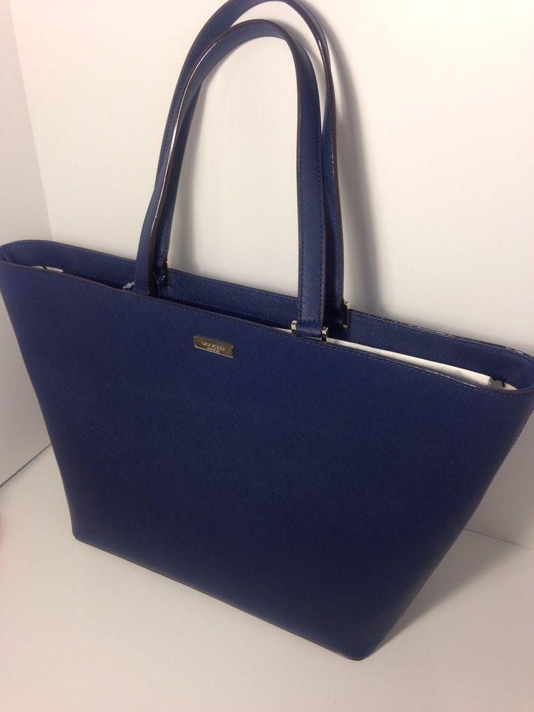 Kate Spade Jules Newbury Lane Saffiano Leather Tote Bag Purse Handbag Katespade Totespers