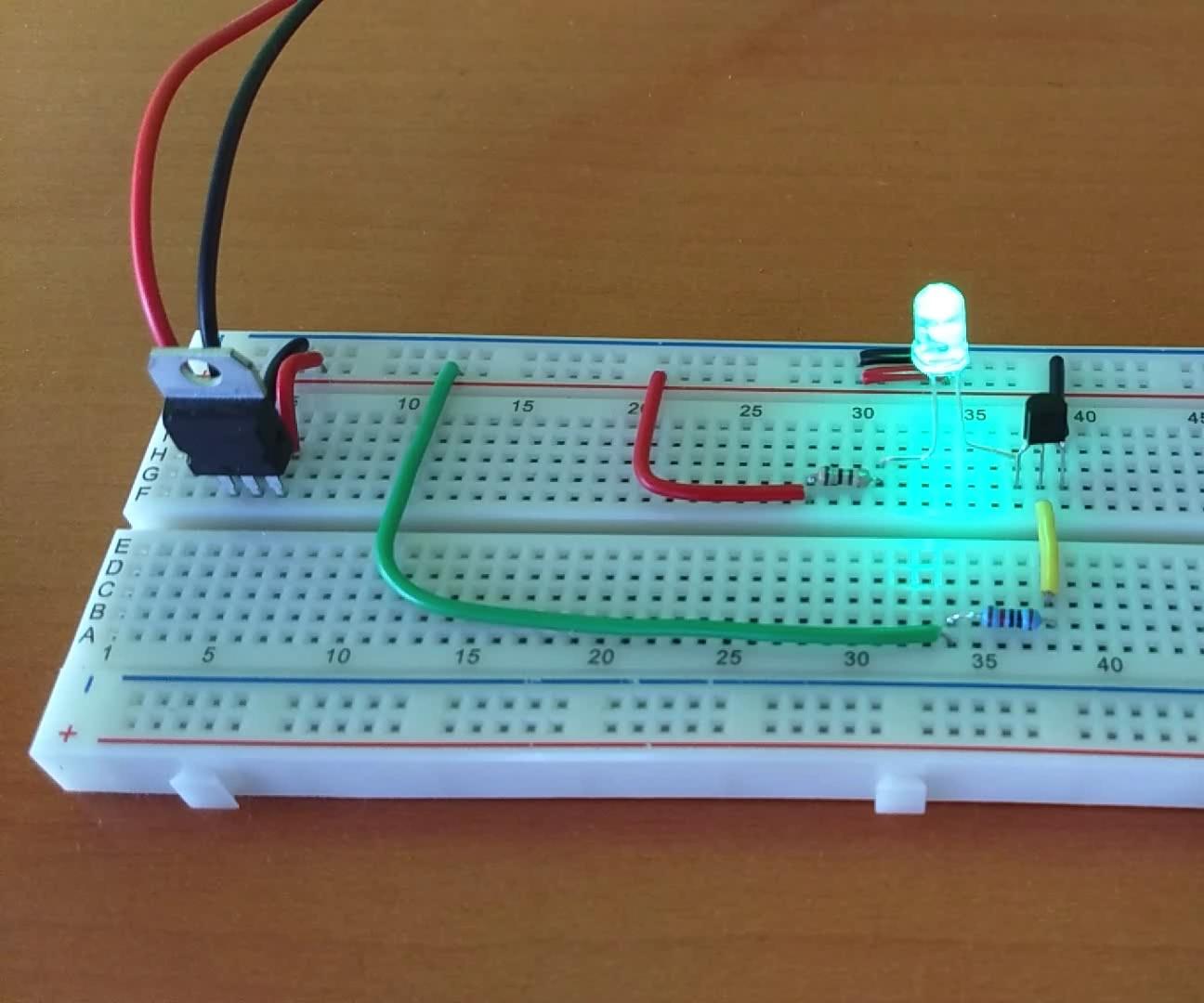 BC547 Switch Circuit Circuit, Electronics, Arduino
