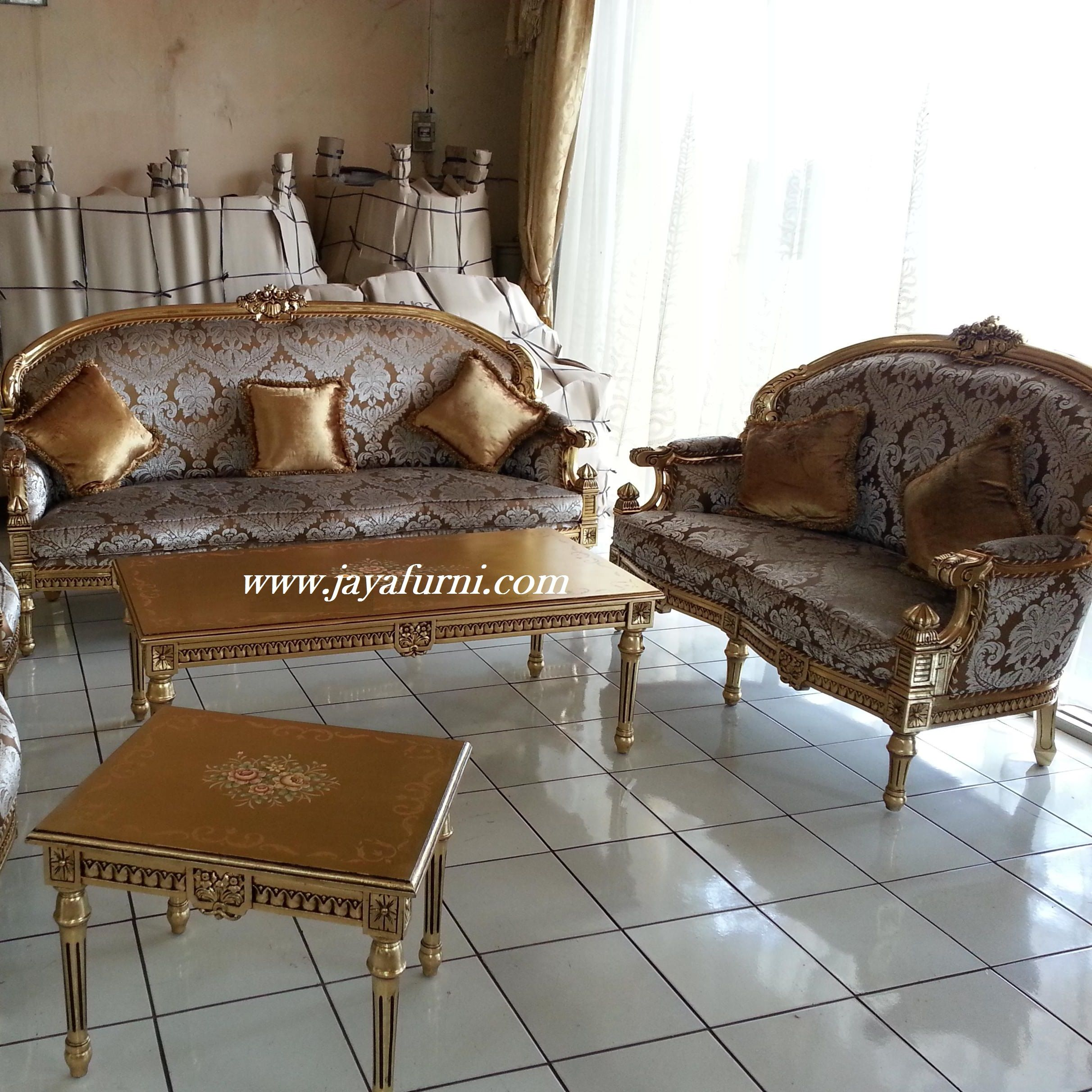 Sofa Ruang Tamu Gold Luxury Sofa Ruang Tamu Gold Luxury Ketika