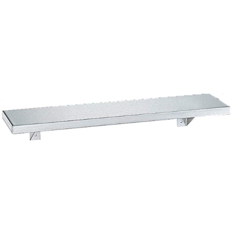 Bobrick 295 Stainless Steel Shelf Satin Finish 24 Length X 5