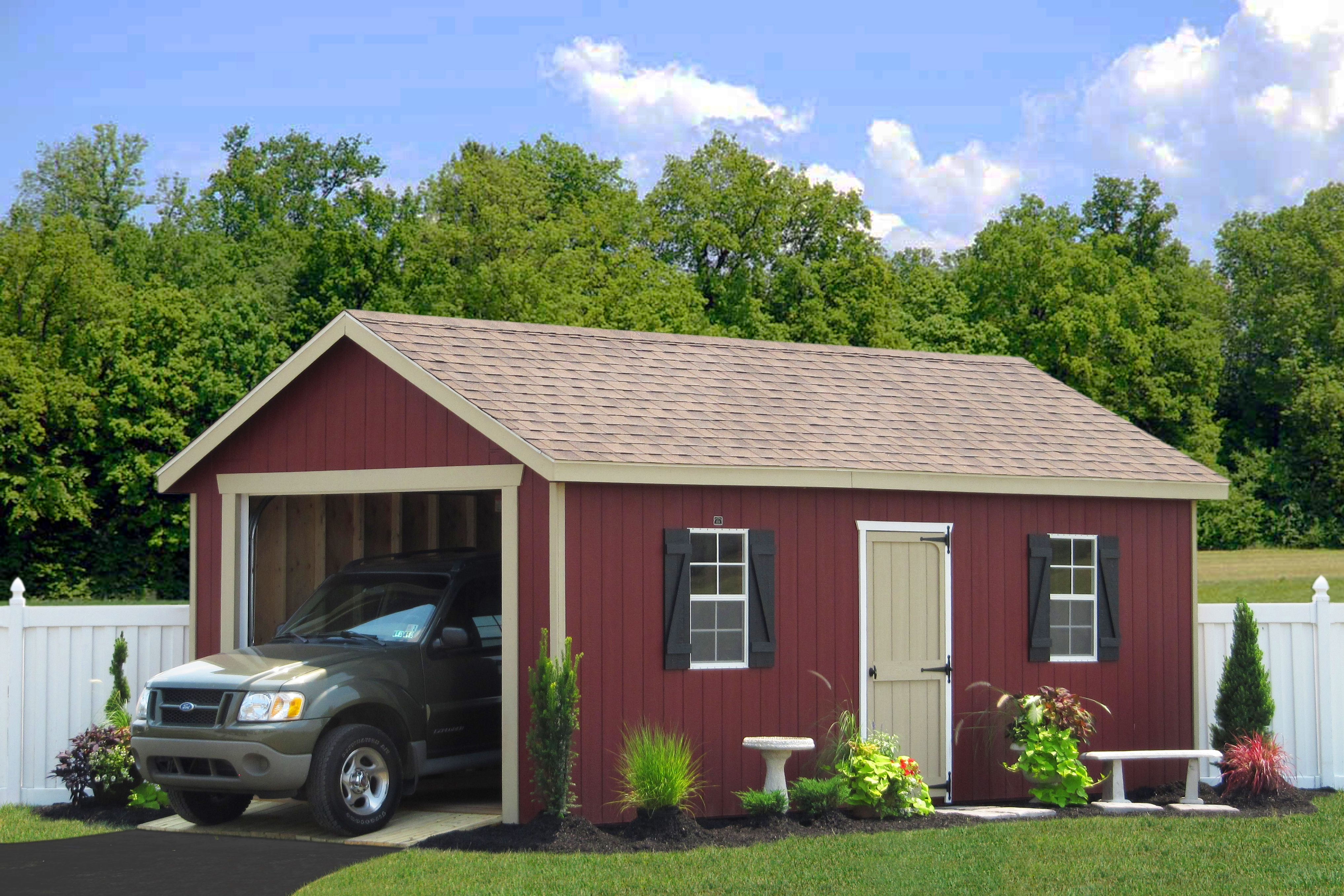buy an amish made portable vehicle garage for one car in pa ny nj