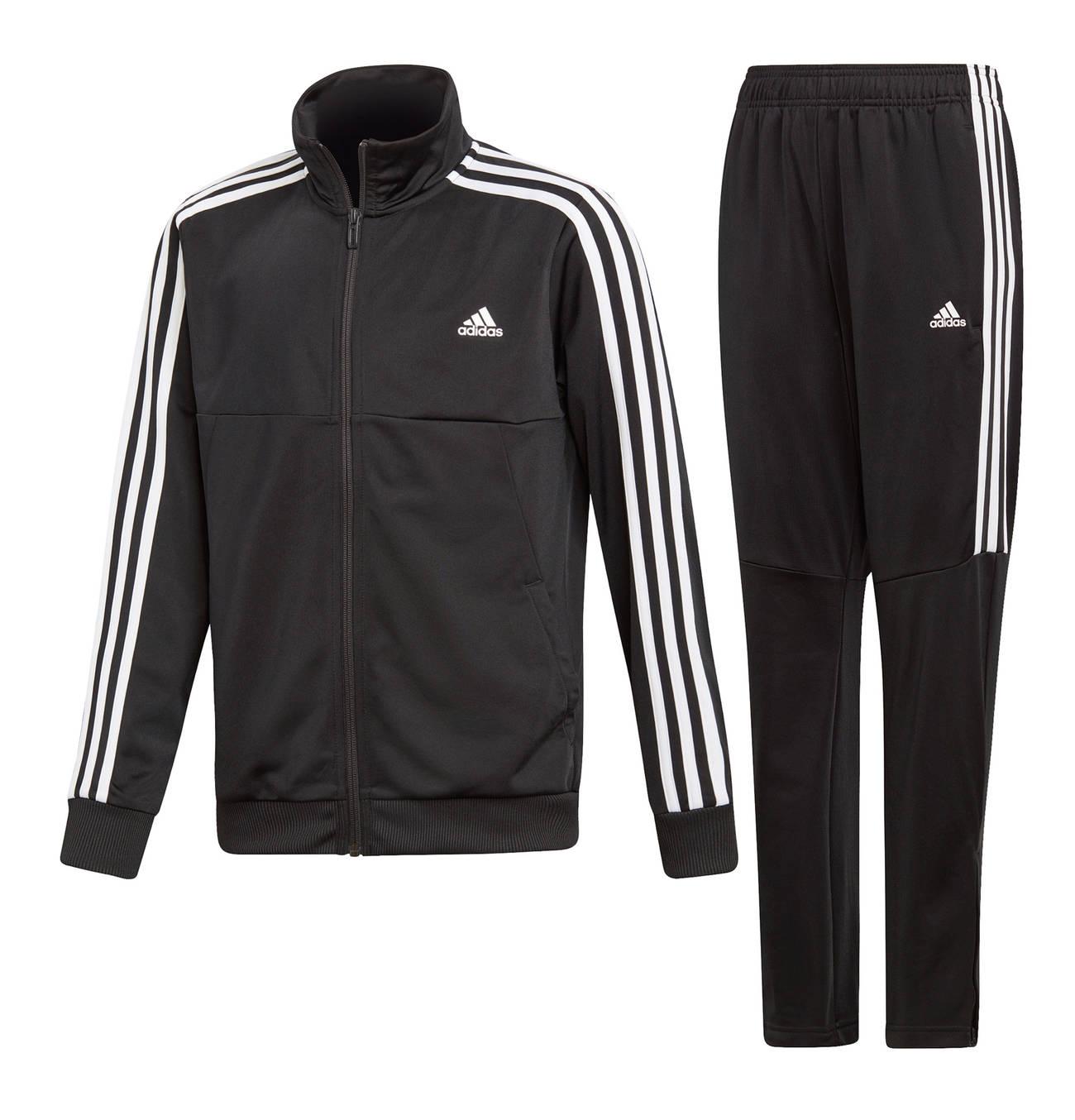 Adidas Tiro 17 Damen Trainingsanzug schwarz weiß