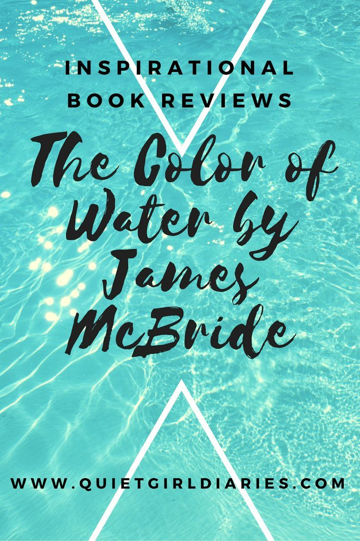 The Color of Water   Girls diary, Book review and Books
