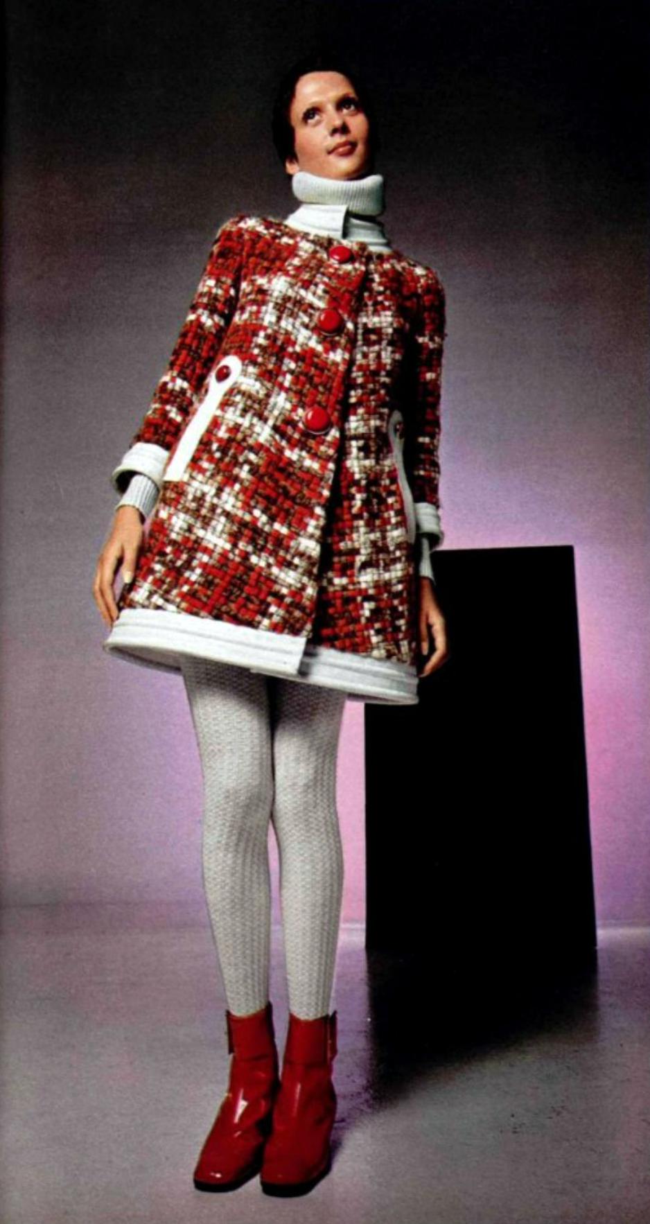 Pierre Cardin L'officiel magazine 1969