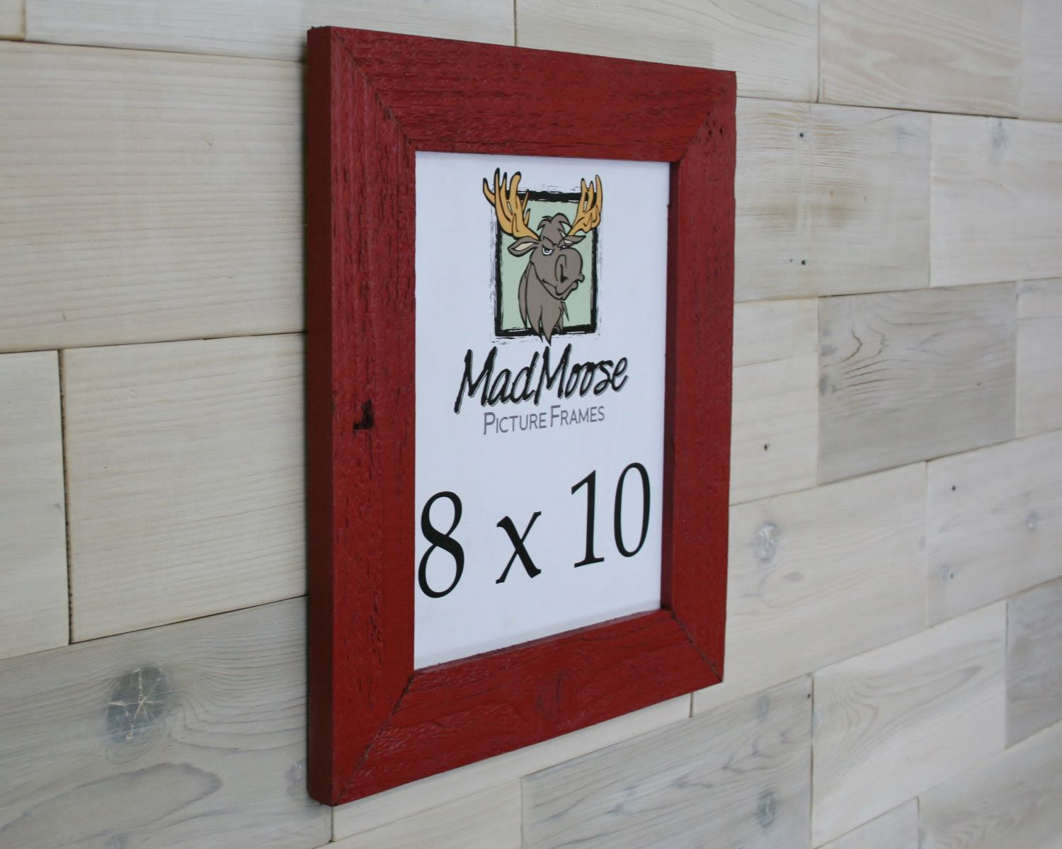 Black Painted Barn Wood 8x10 Picture F… | Barn Wood Picture Frames ...
