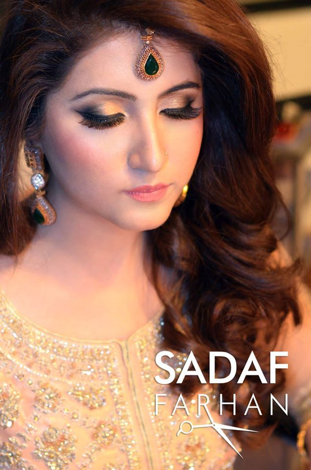 Makeup By Sadaf Farhan Party Makeup Beautiful Makeup Hair Makeup