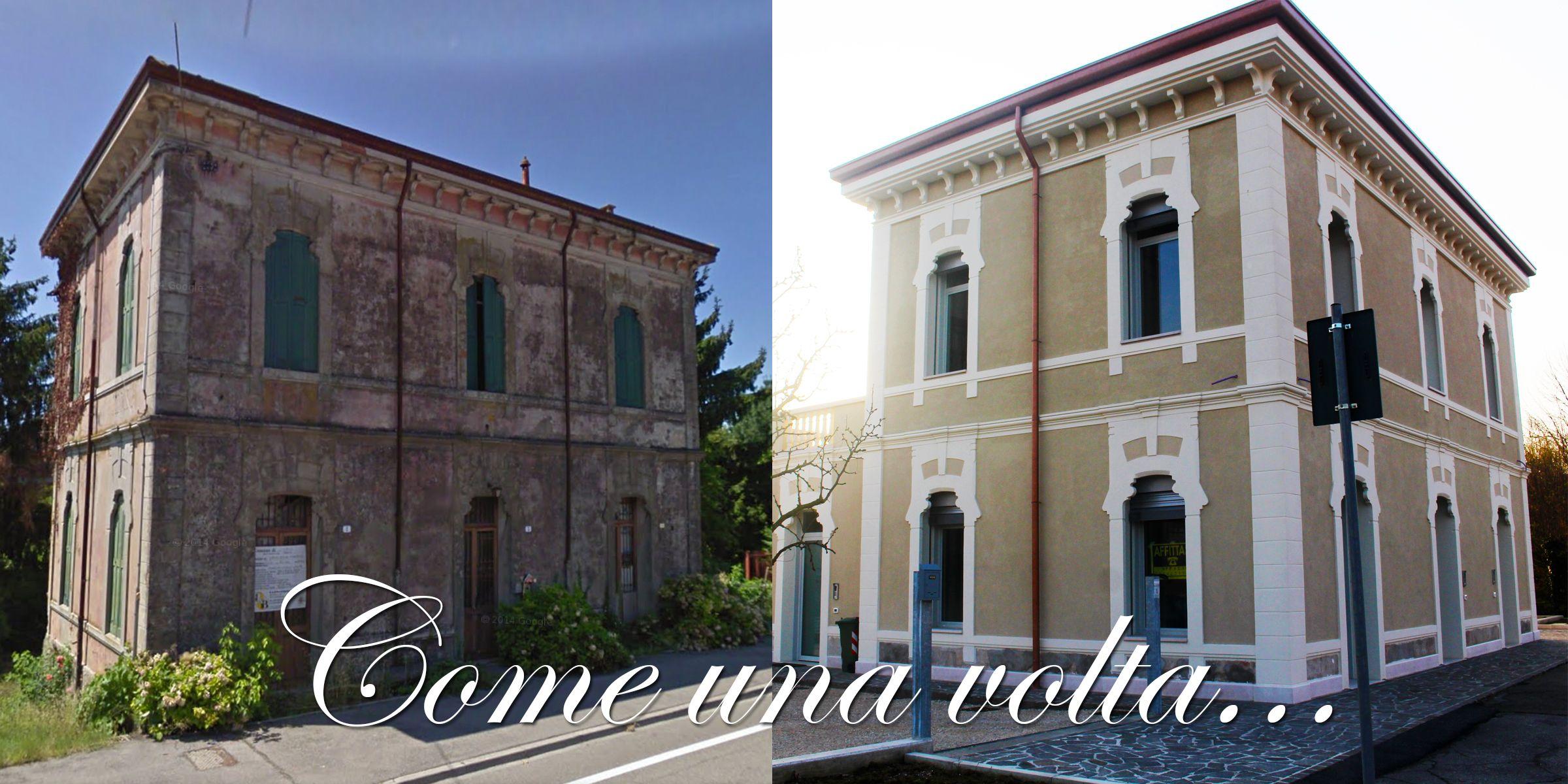 Cornici per esterni cornici per finestre facciate - Colori facciate esterne case ...