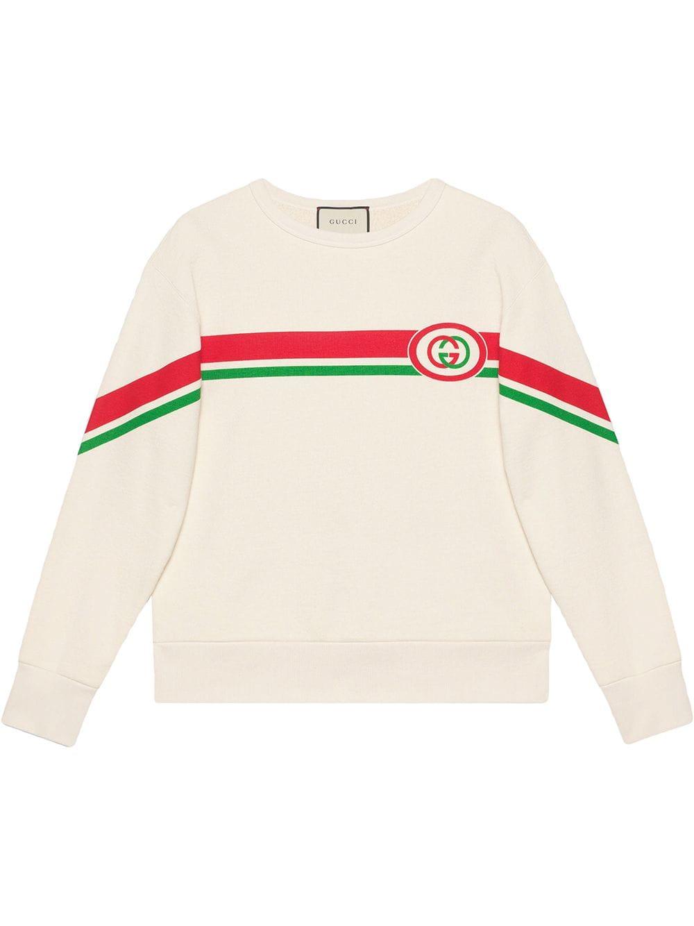 Pin By Francesca Toledo On Marcas In 2021 Cotton Sweatshirts Printed Sweatshirts Gucci Sweatshirt [ 1334 x 1000 Pixel ]