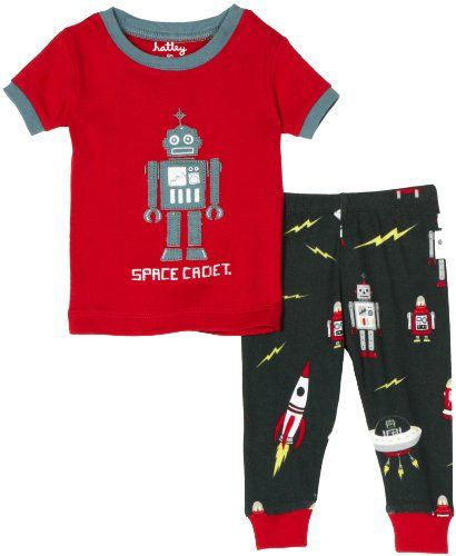 61a06e973 Hatley Robot Pajama Set Red 24 Months    You can find more details ...