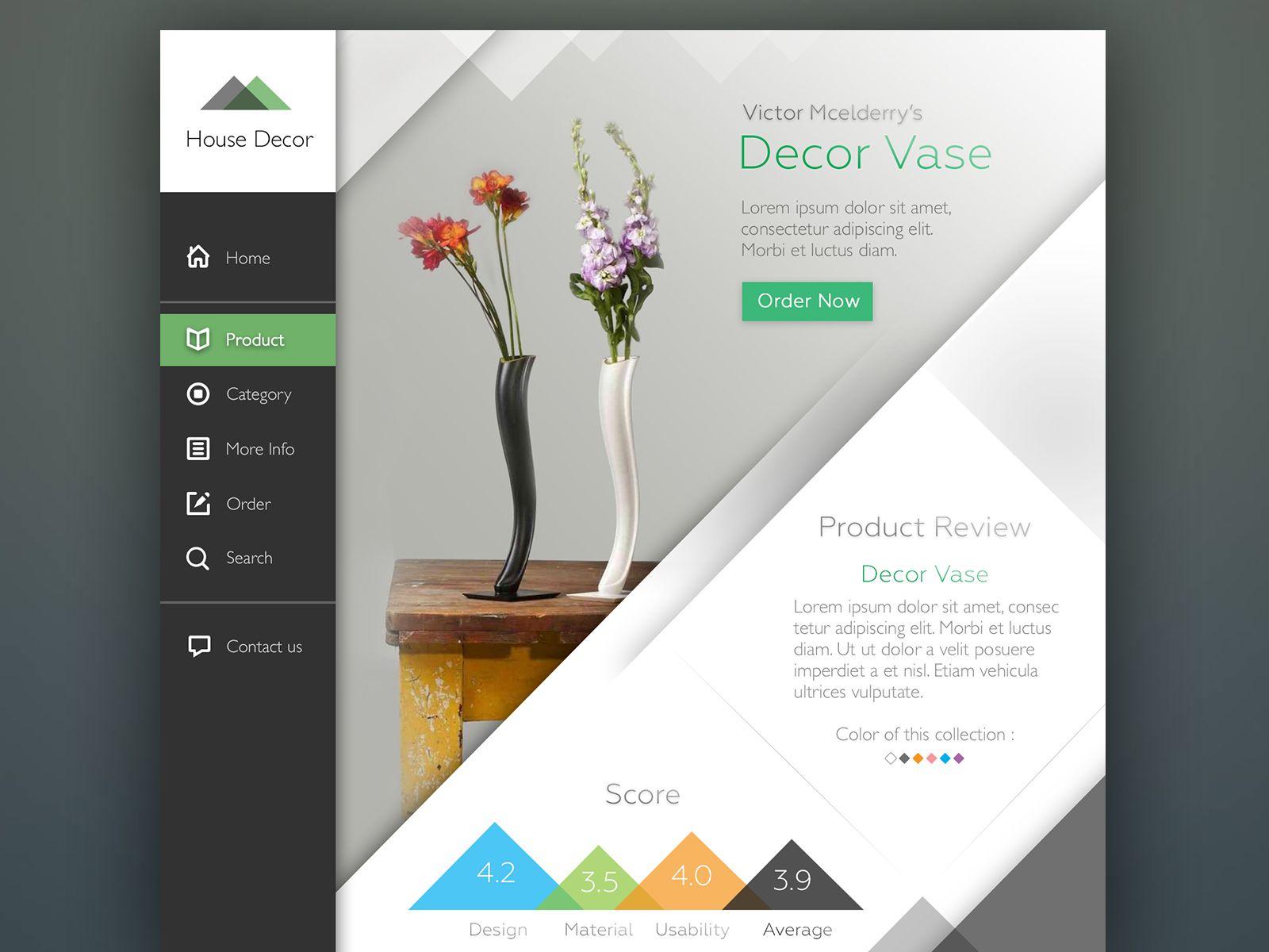 homedecor d godaddy thumb home decor example website cor templates