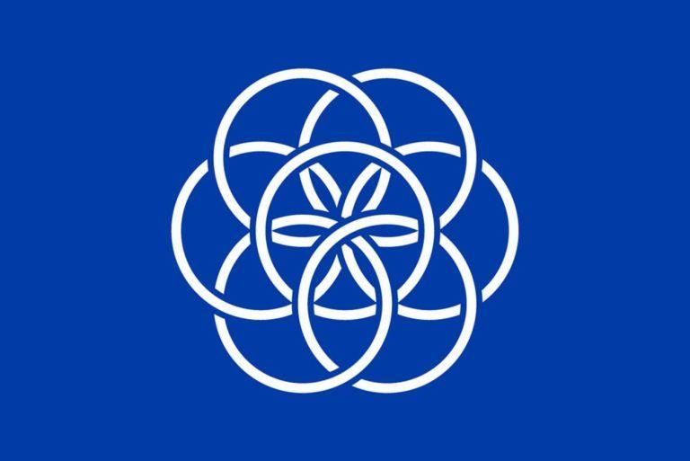 The U N Masonic Atlantean Flat Earth 33 Mythology Earth Flag International Flags Flag