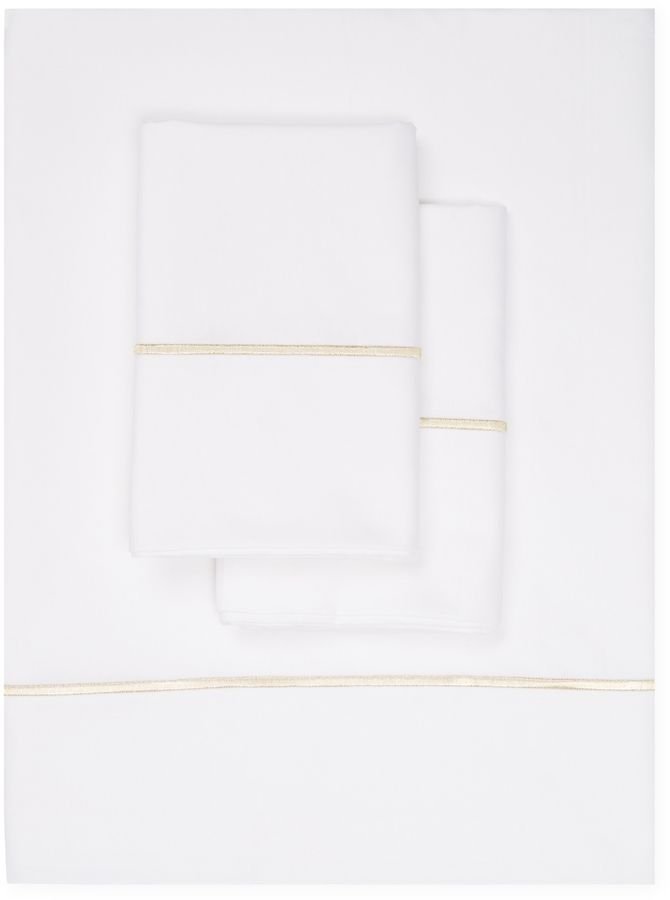 Maurizio Italy Line Embroidered Sheet Set