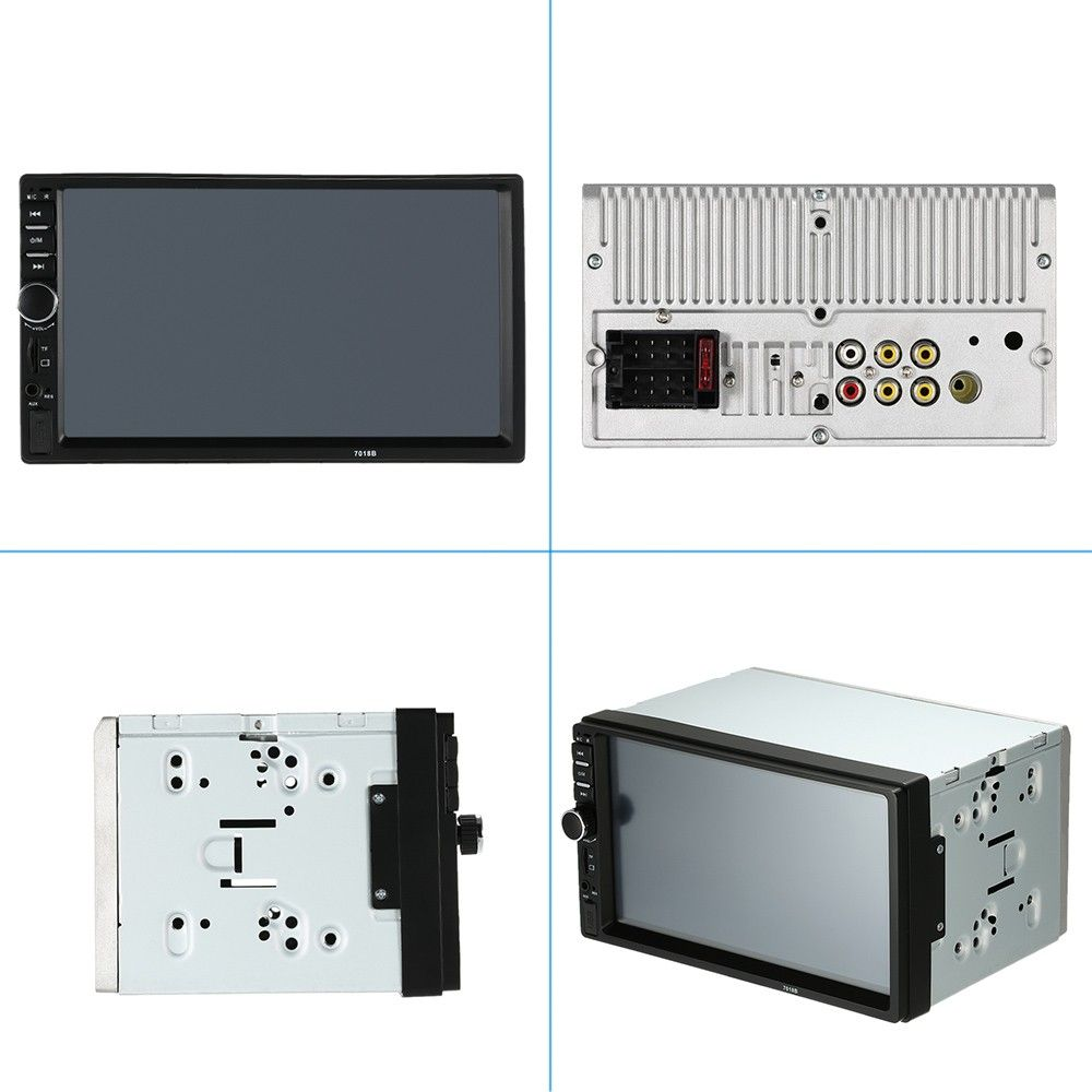 inch din car bt stereo radio player with rear view camera sales online array tomtop find this pin and more on home theater installation also only us black inch hd fm mp rh in pinterest