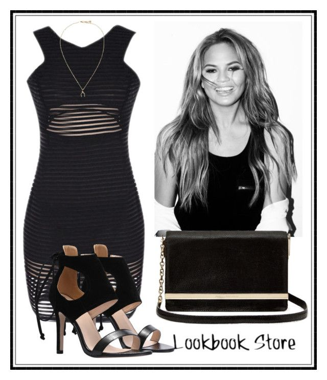 """""""Pull off that look: Chrissy Teigen"""" by lookbookstore ❤ liked on Polyvore featuring Diane Von Furstenberg"""