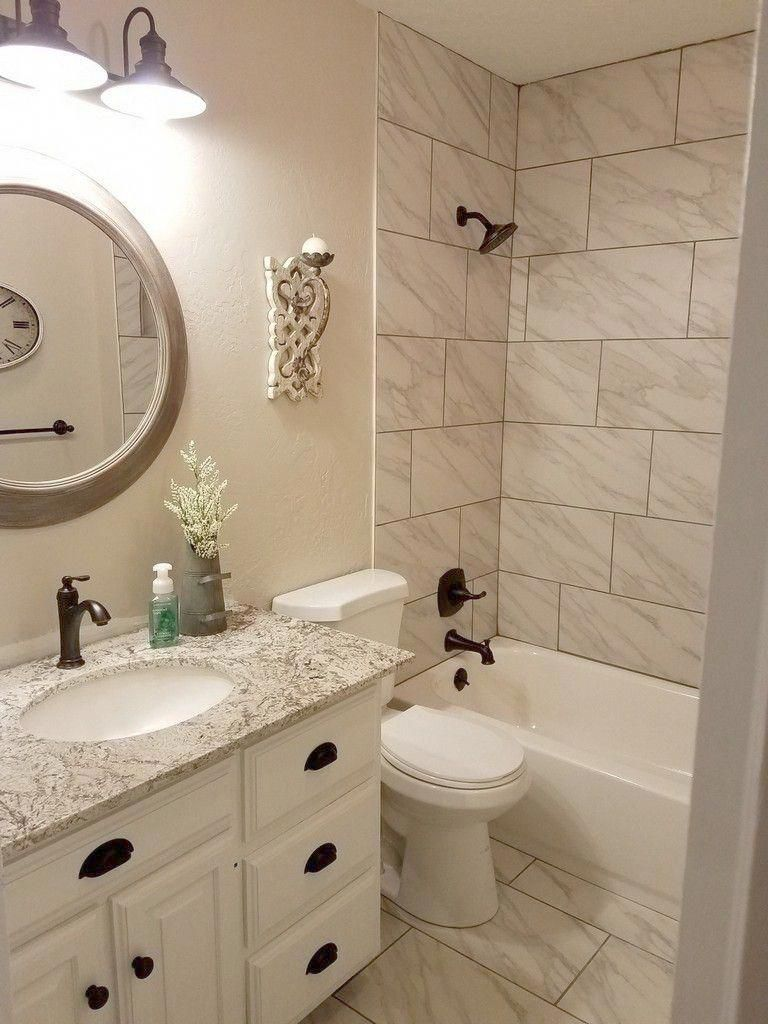 Spa Bathroom Discover Tips On How To Decorate And See 60 Ideas In 2020 Diy Bathroom Remodel Bathroom Renovation Diy Small Bathroom