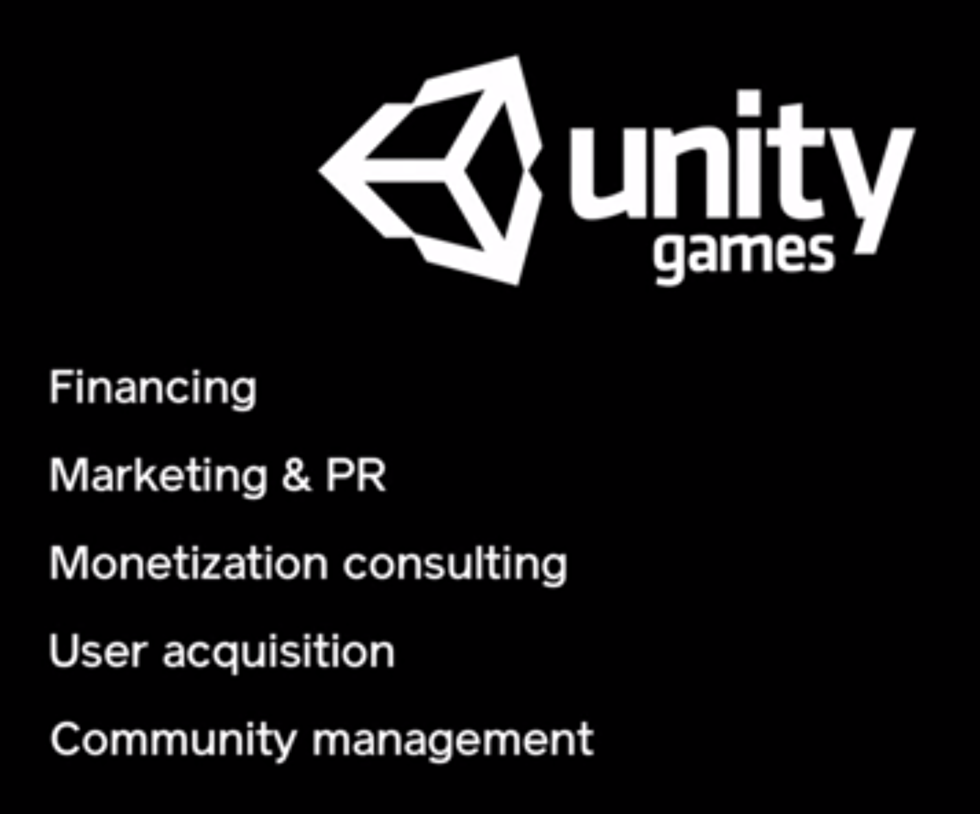 Unity Union To Promote Titles Unity Unity Games Finance