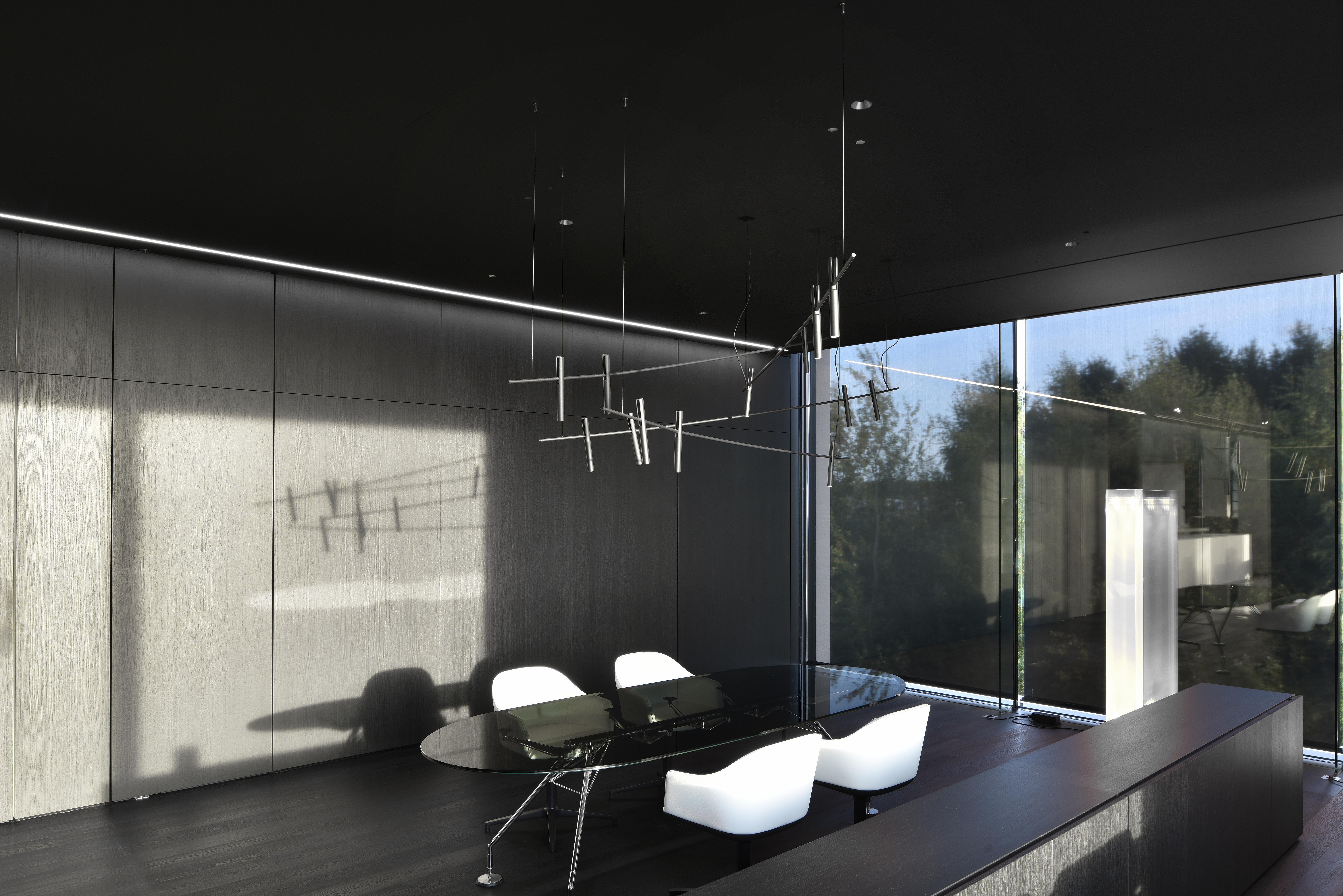 Merveilleux Office Pendant Light Big Window View Kreon Esprit LED Lighting Design