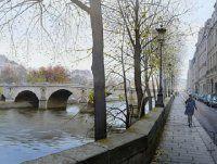 巴黎映像。|  来自水彩画家Thierry Duval