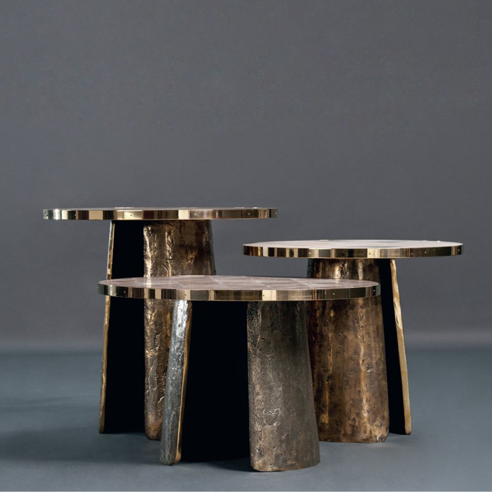 H H Studio Dubai Pave Tables By Alexander Lamont In 2020 Coffee Table Side Coffee Table Artisan Furniture