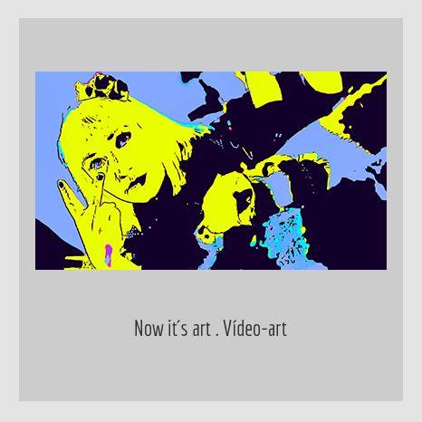 NOW IT´S ART. YENY CASANUEVA Y ALEJANDRO GONZÁLEZ. PROYECTO PROCESUAL ART.